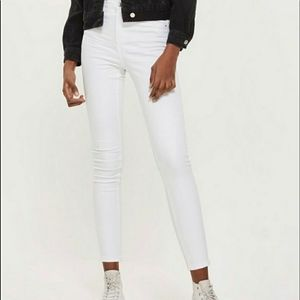 """Topshop Moto skinny (G22) 10"""" high Waisted jeans"""